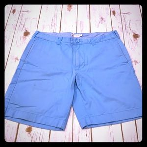 "J. Crew Men's light blue 33"" shorts"